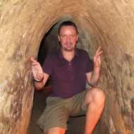 Cu Chi Tunnels, near Saigon