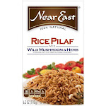Near East Wild Mushroom & Herb Rice Pilaf Mix 6.3 Oz (Pack of 12)