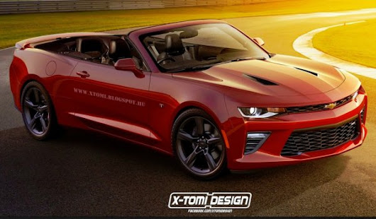 2016 Camaro Convertible and Z28 Rendered by X-Tomi - Torque News