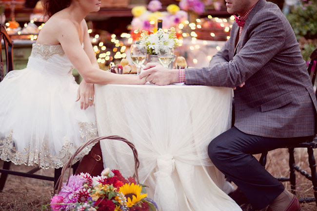french market tablescape