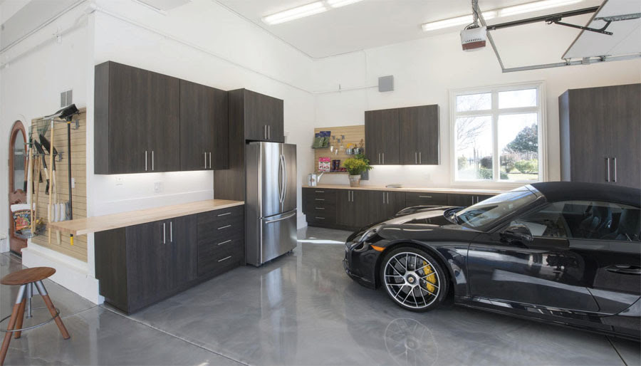 Garage Conversion From Unused Space To A Larger Live In Kitchen Area 3 Solutions