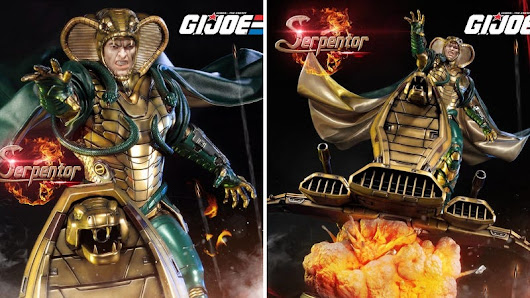 This Incredible Serpentor Statue Is the Ultimate Collectible for G.I.Joe Fans