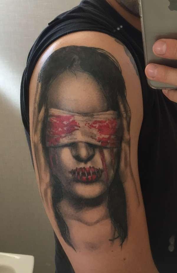 See No Evil Hear No Evil Speak No Evil Tattoo