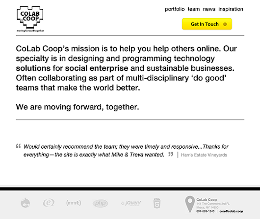 How We Redesigned CoLab.coop