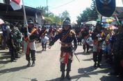 60 prajurit Yogyakarta Ikut Mengarak Sajen Sedekah Laut di Kendal