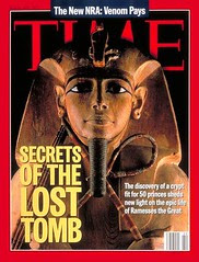 Ramses II on the cover of the time