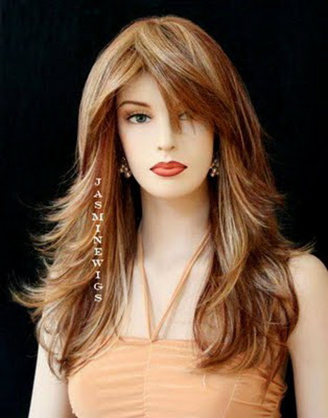 Haircuts  for long  hair  and round  faces