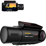Rexing - V3 Plus Front and Cabin Dash Cam - Black
