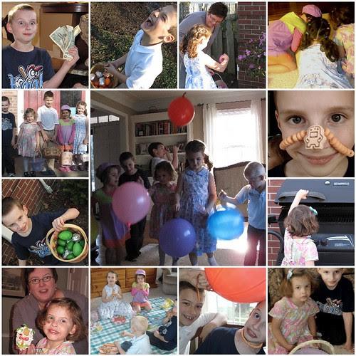 Kiley cousins' Easter