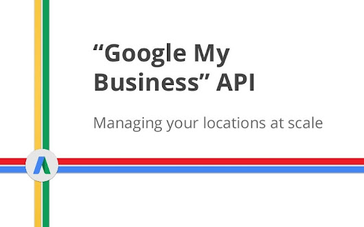 GMB API (Google My Business)
