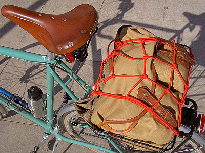 Camera bag in Topeak basket