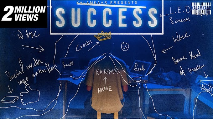 Success Lyrics by Karma is latest Hindi song