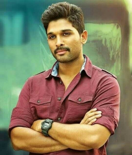 Allu Arjun Hairstyle In Sarrainodu Hairstyle Guides
