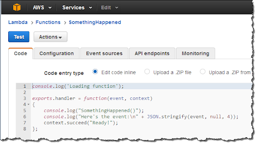 New CloudWatch Events – Track and Respond to Changes to Your AWS Resources