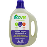 Ecover Laundry Detergent 2X Concentrated 62 Loads Lavender Field 93 fl oz