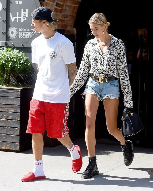 bieber-news:June 17: Justin and Hailey Baldwin spotted out in...