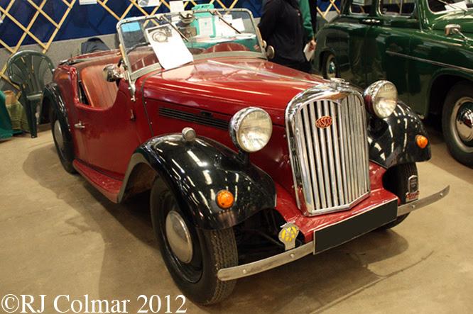 Singer Roadster, Bristol Classic Car Show