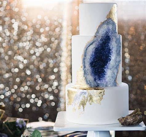 Amethyst Geode Cake Is A Tasty Mineral You Can Eat   DeMilked