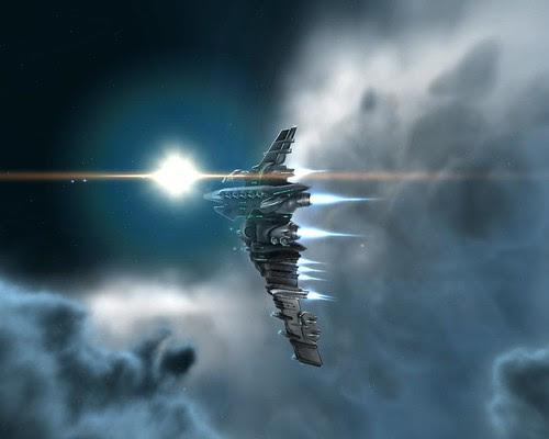 Gallente Myrmidon in space