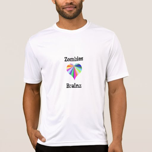 Zombies Heart Brainz T-Shirt