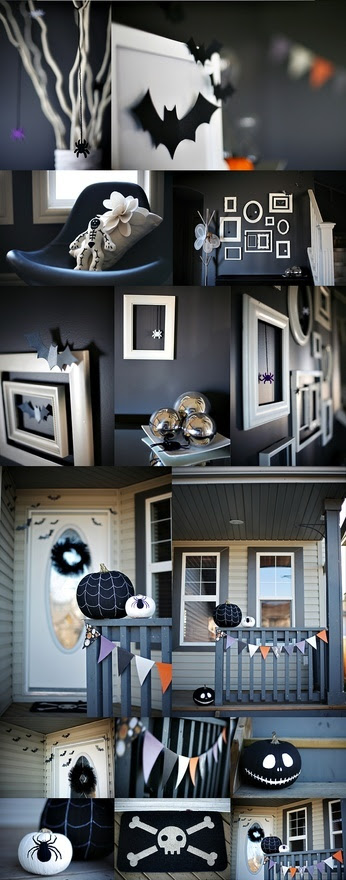 Cute Modern Halloween Decor