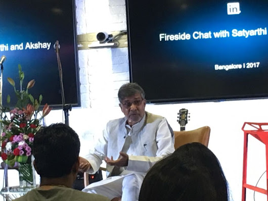LinkedIn hosts Nobel Peace Laureate Kailash Satyarthi | Business News This Week