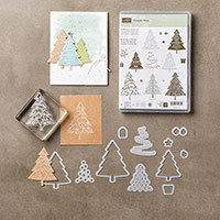 Peaceful Pines Photopolymer Bundle by Stampin' Up!
