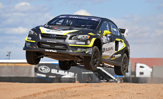 Subaru WRX STI Global Rallycross Car First Drive | Review | Car and Driver