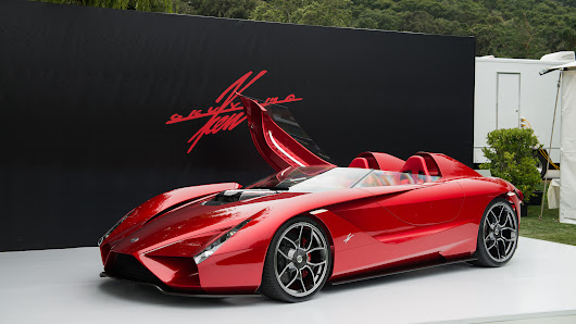 Ken Okuyama debuts 600-hp Kode57 supercar at the Quail