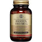 Solgar Enhanced Potency Biotin, 1000 mcg, Vegetable Capsules - 250 count