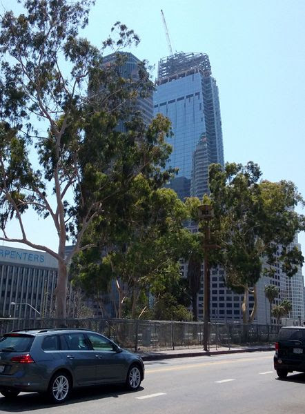The Wilshire Grand Center as seen on August 23, 2016.