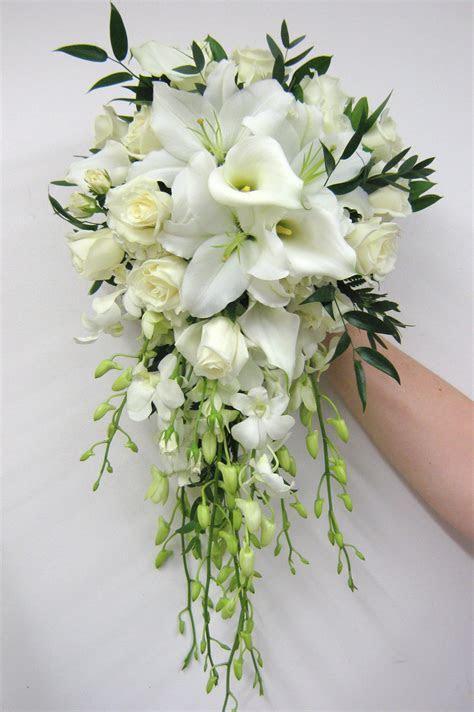 Show me your cascading bridal bouquets!