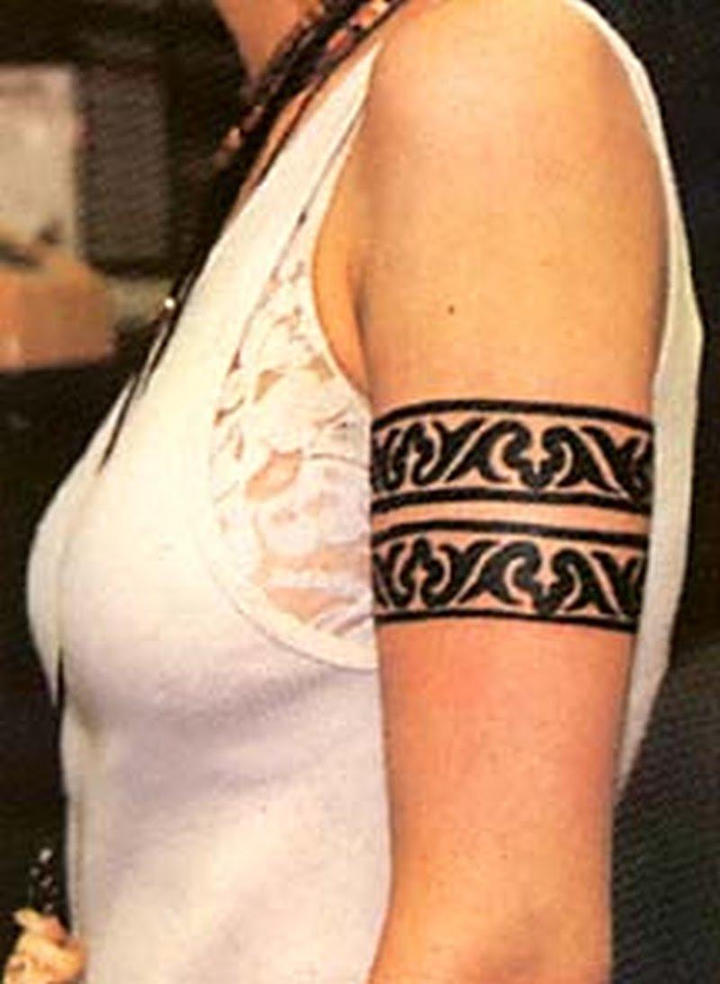 Armband Tattoo On Girls Arm Tattoos Book 65000 Tattoos Designs