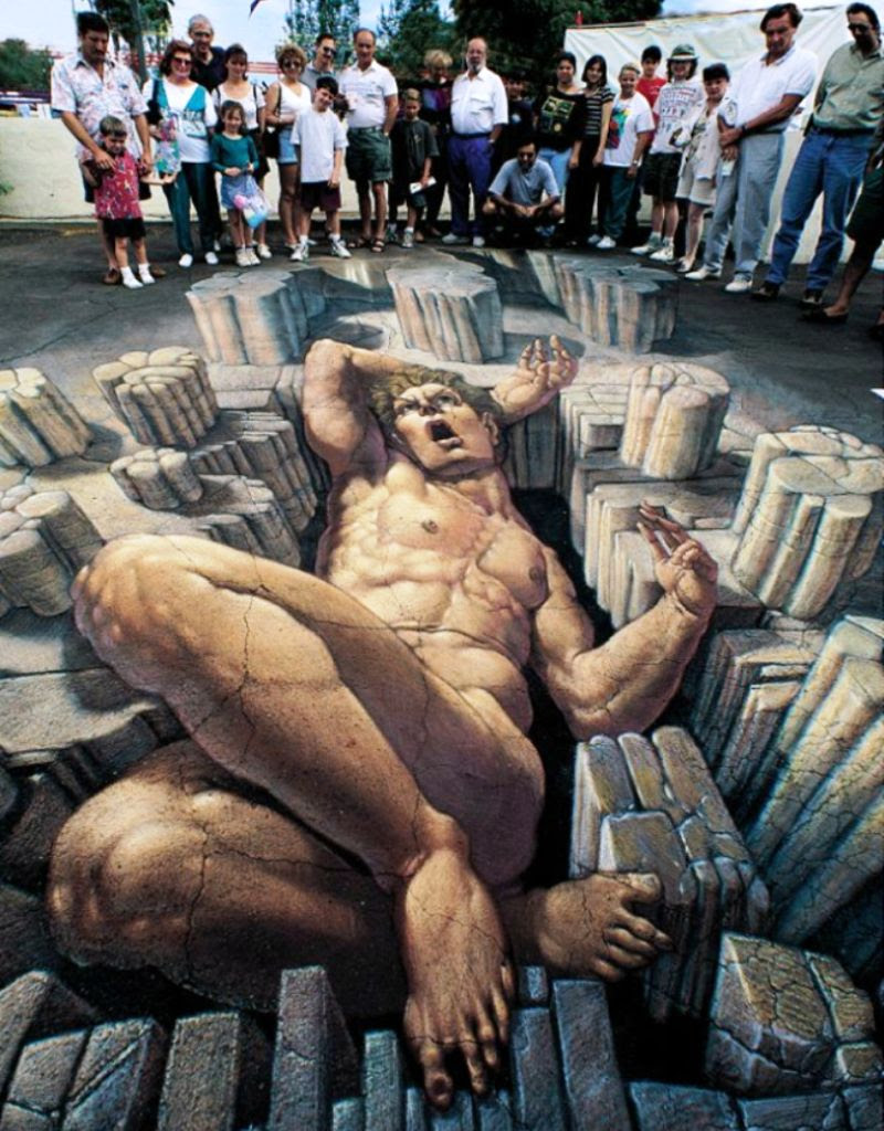 H7OgH The Incredible World Of 3D Street Art