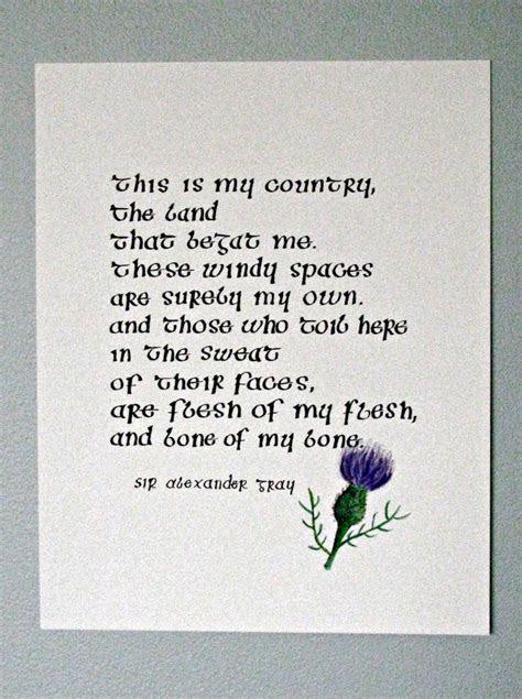 Scottish wedding Poems