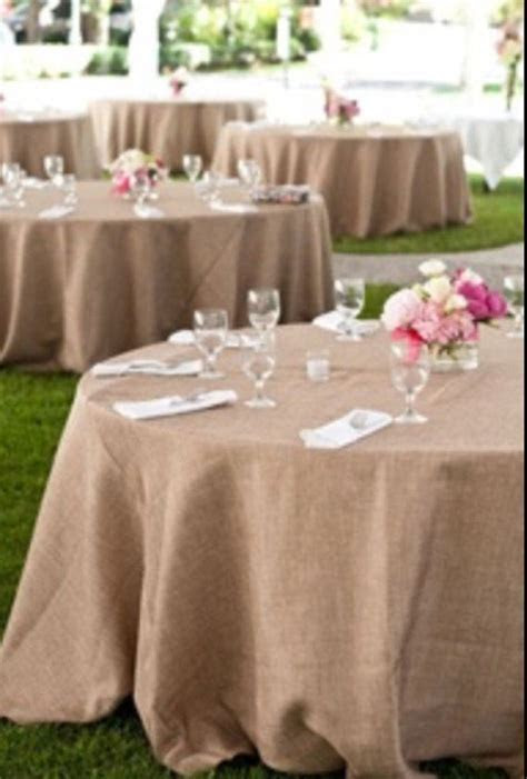 Burlap tablecloth, wedding table cloth, SALE, rustic