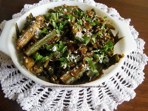 Bhindi curry 11