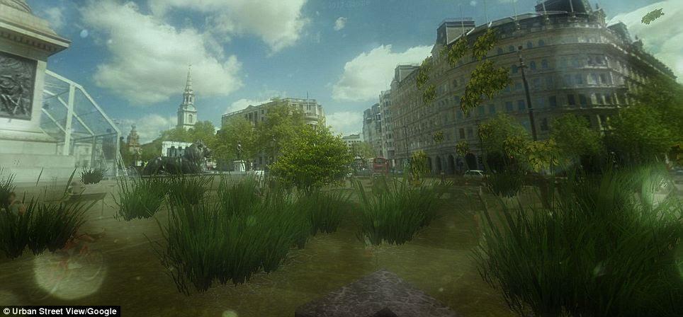 Google Post Apocalypse View Turn Your Neighbourhood Into