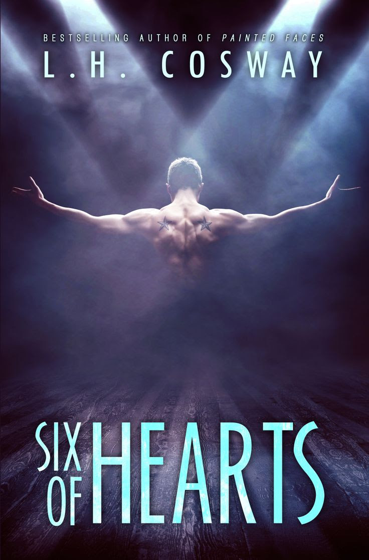 Six of Hearts by LH Cosway