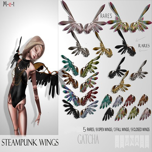 Steampunk wings Gatcha. Una Daxter