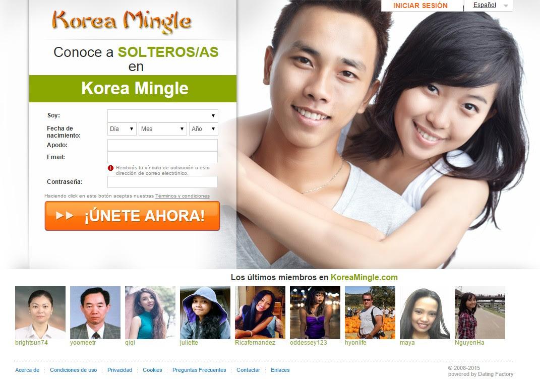 Korea dating website