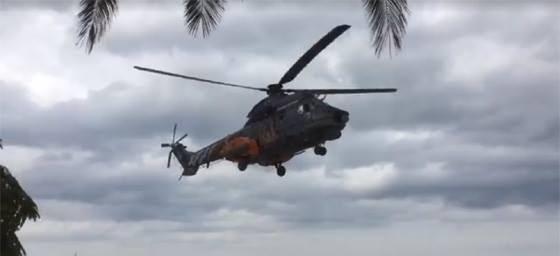"Super Puma ""σηκώθηκε"" από Σαμοθράκη - Μεταφέρθηκε Υπαξιωματικός"