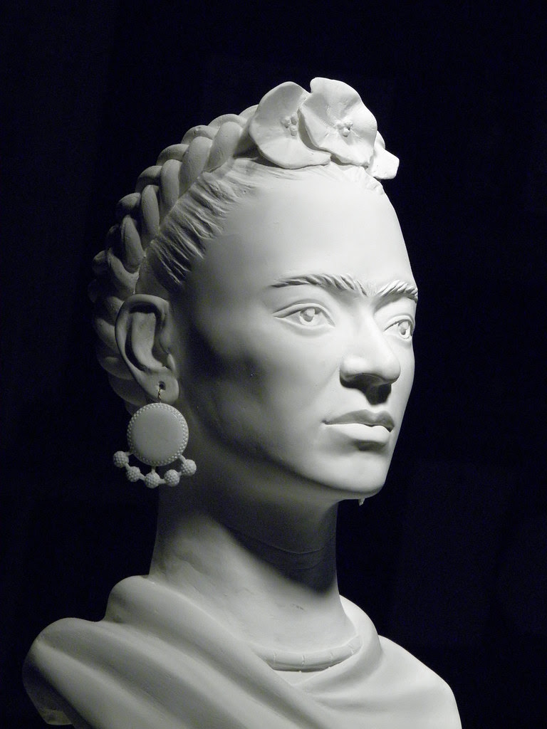 1 Frida Kahlo Sculpture By Nijel Original Portrait