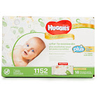 Huggies Natural Care Plus Baby Wipes, 1152 ct