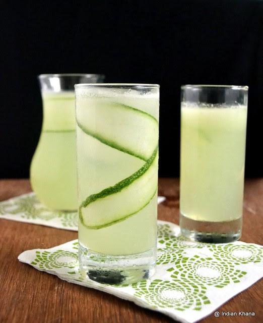 Cucumber Lemonade Summer Drinks Recipes