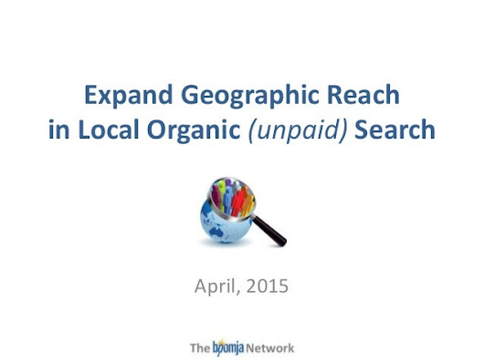 Expand geographic reach in organic search