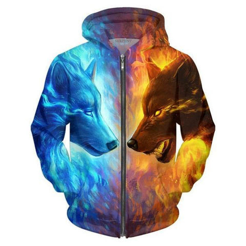 Best Red vs blue Hoodie