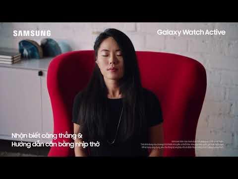 Galaxy Watch Active - Tuyên ngôn thời trang của chính bạn