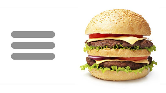 Hamburger icon: How these three lines mystify most people - BBC News