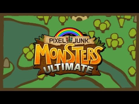 PixelJunk Monsters Ultimate - Gati Gati Island - Co-op Rainbows